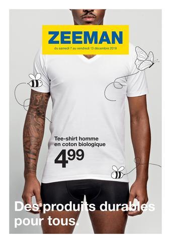 Zeeman catalogue publicitaire (valable jusqu'au 13-12)