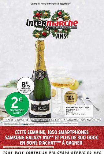Intermarché catalogue publicitaire (valable jusqu'au 15-12)