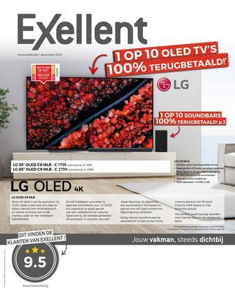 Exellent reclame folder (geldig t/m 31-12)