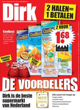 Dirk reclame folder (geldig t/m 14-12)