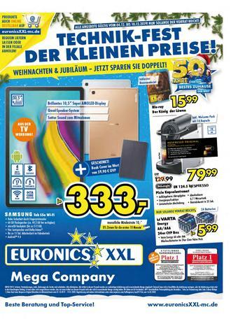 Euronics XXL Prospekt (bis einschl. 19-01)