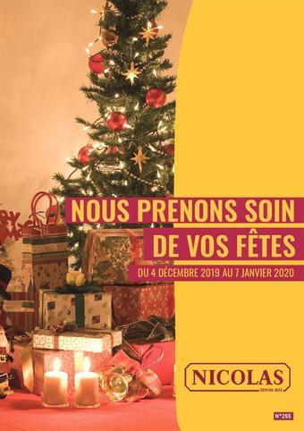 Nicolas catalogue publicitaire (valable jusqu'au 07-01)