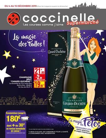 Coccinelle Supermarché catalogue publicitaire (valable jusqu'au 15-12)