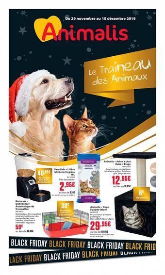 Animalis catalogue publicitaire (valable jusqu'au 15-12)