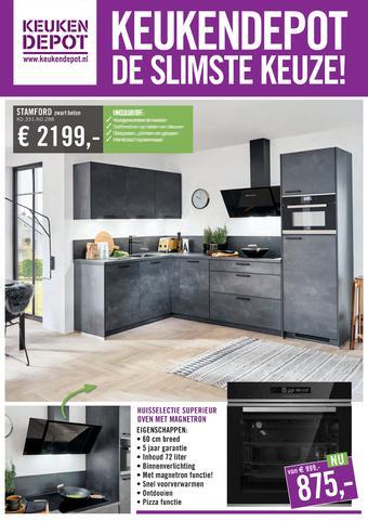 Keukendepot reclame folder (geldig t/m 15-12)
