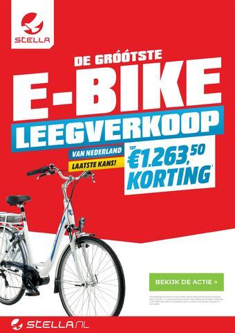 Stella fietsen reclame folder (geldig t/m 14-12)