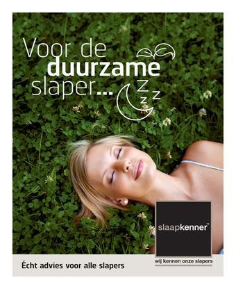 Slaapkenner reclame folder (geldig t/m 05-04)