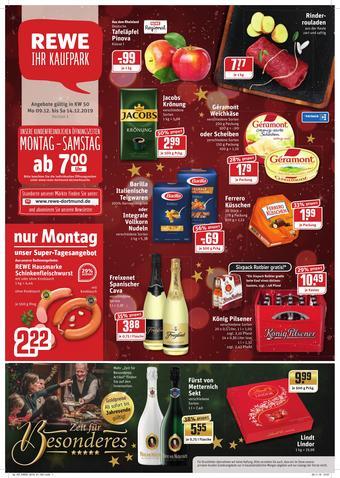 REWE Kaufpark Prospekt (bis einschl. 14-12)