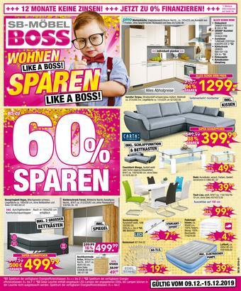 Möbel Boss Prospekt (bis einschl. 15-12)