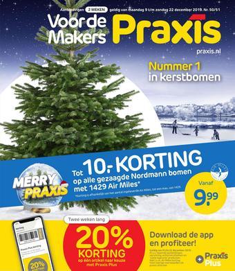 Praxis reclame folder (geldig t/m 22-12)