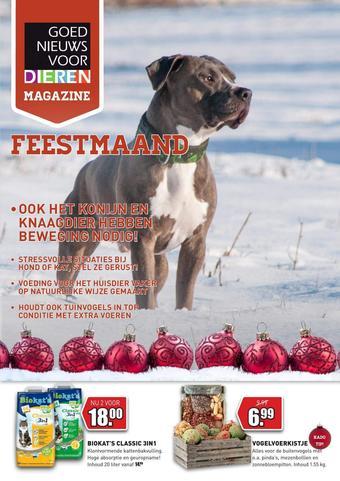 Goed Nieuws Voor Dieren reclame folder (geldig t/m 29-12)