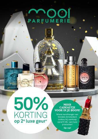 Mooi parfumerie reclame folder (geldig t/m 24-12)