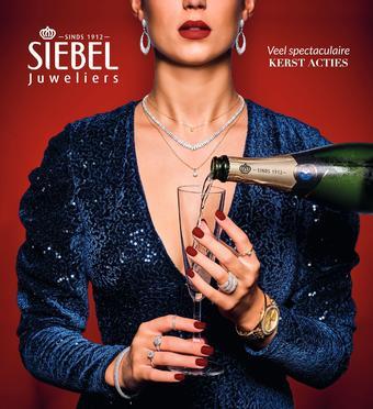 Siebel Juweliers reclame folder (geldig t/m 01-01)
