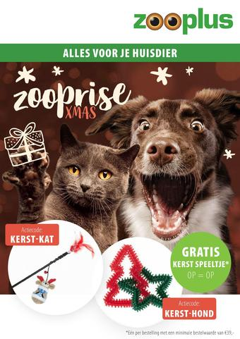 Zooplus reclame folder (geldig t/m 22-12)