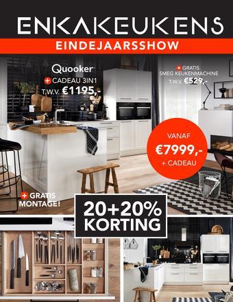 Enka Keukens reclame folder (geldig t/m 15-12)