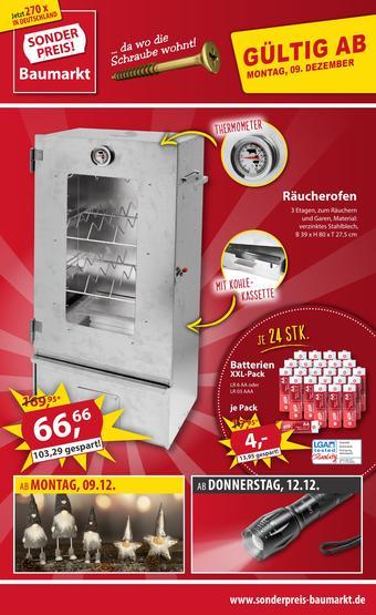 Sonderpreis Baumarkt Prospekt (bis einschl. 14-12)