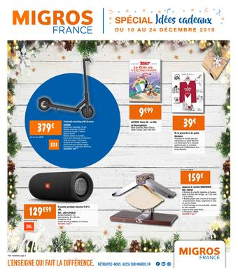 Migros catalogue publicitaire (valable jusqu'au 24-12)