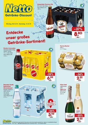 Netto Getränke Discount Prospekt (bis einschl. 14-12)