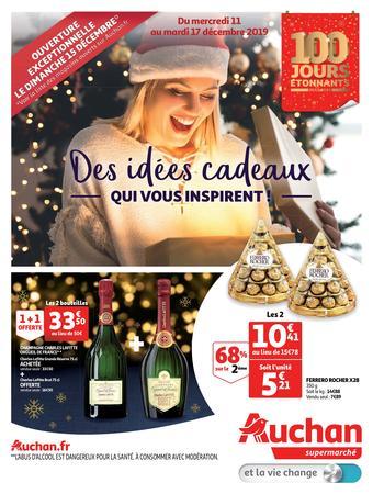 Auchan catalogue publicitaire (valable jusqu'au 17-12)