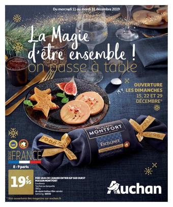 Auchan catalogue publicitaire (valable jusqu'au 31-12)
