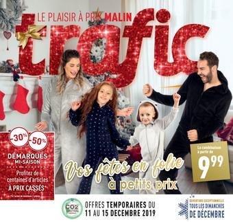 Trafic catalogue publicitaire (valable jusqu'au 17-12)