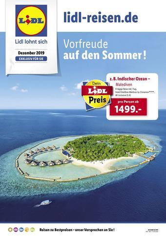 Lidl Reisen Prospekt (bis einschl. 12-02)