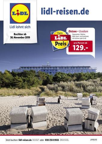 Lidl Reisen Prospekt (bis einschl. 31-12)