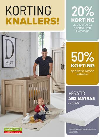 Baby-Dump reclame folder (geldig t/m 30-12)