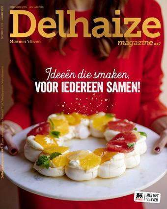Delhaize reclame folder (geldig t/m 19-01)