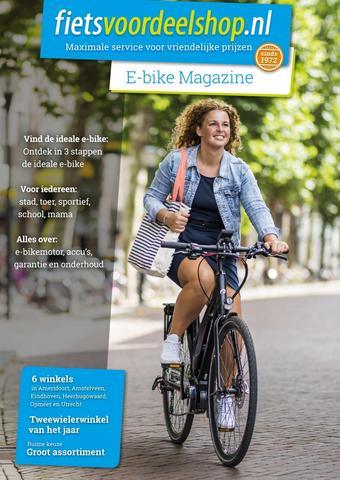 Fietsvoordeelshop.nl reclame folder (geldig t/m 30-04)