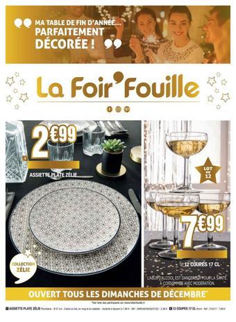 La Foir'Fouille catalogue publicitaire (valable jusqu'au 17-12)