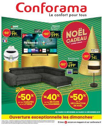 Conforama catalogue publicitaire (valable jusqu'au 24-12)