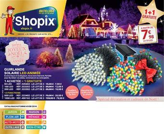 Shopix catalogue publicitaire (valable jusqu'au 31-01)