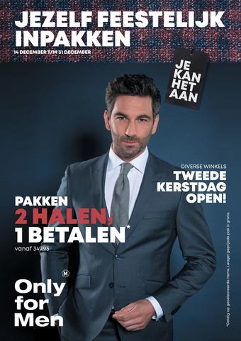 Only for Men reclame folder (geldig t/m 31-12)