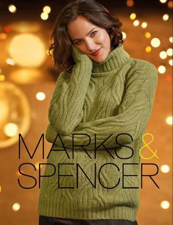 Marks & Spencer reclame folder (geldig t/m 10-02)