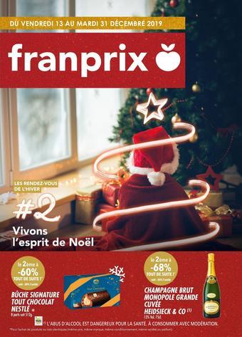 Franprix catalogue publicitaire (valable jusqu'au 31-12)