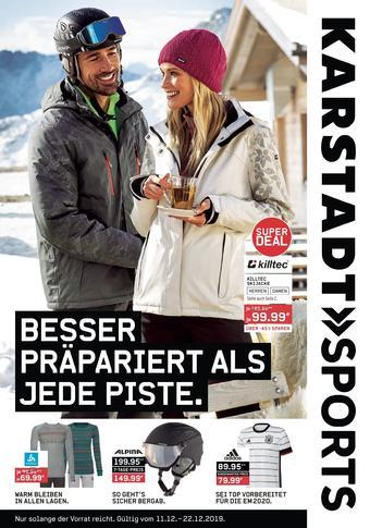 Karstadt Sports Prospekt (bis einschl. 22-12)