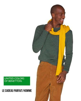 Benetton reclame folder (geldig t/m 07-01)