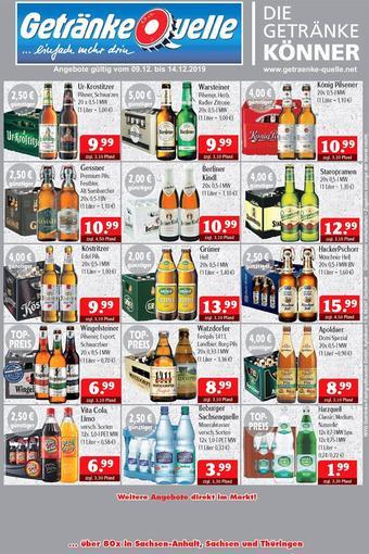 Getränke Quelle Prospekt (bis einschl. 14-12)