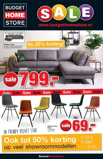 Budget Home Store reclame folder (geldig t/m 05-01)