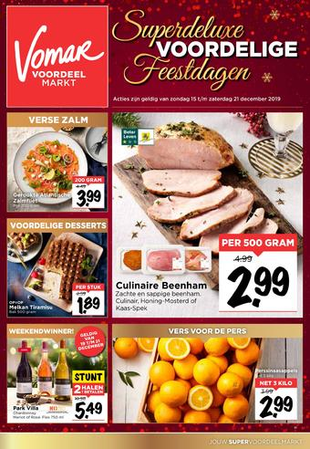 Vomar reclame folder (geldig t/m 21-12)