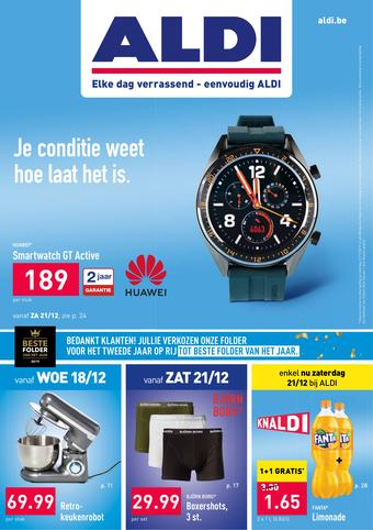 ALDI reclame folder (geldig t/m 22-12)