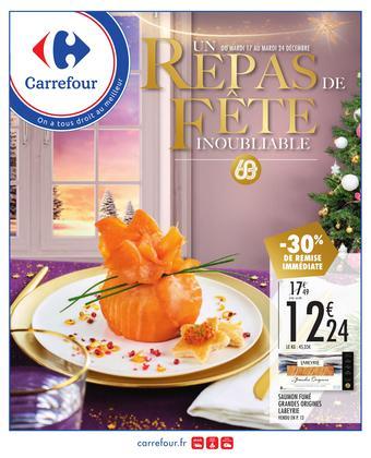 Carrefour catalogue publicitaire (valable jusqu'au 24-12)