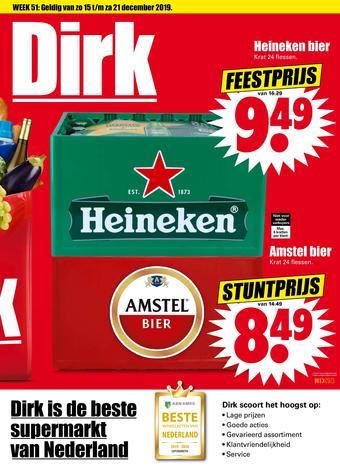 Dirk reclame folder (geldig t/m 21-12)
