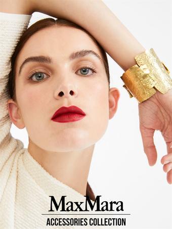MaxMara reclame folder (geldig t/m 12-02)