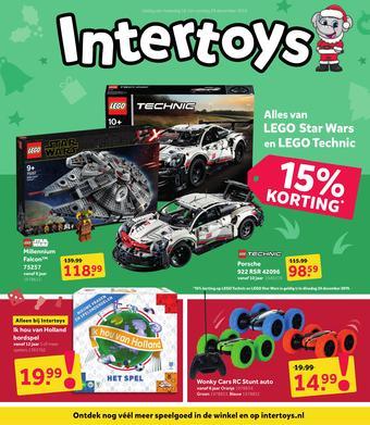 Intertoys reclame folder (geldig t/m 29-12)