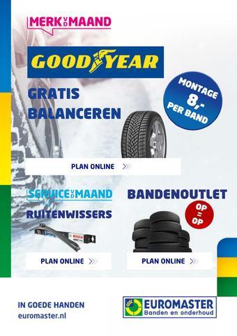 Euromaster reclame folder (geldig t/m 01-01)