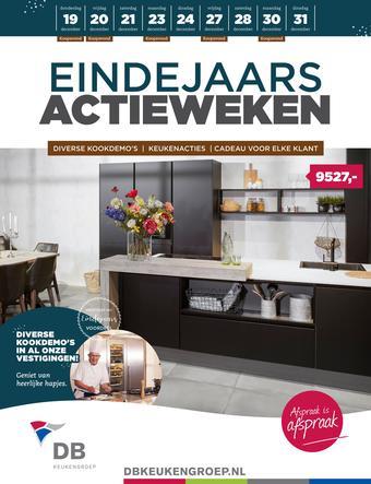 DB keukens reclame folder (geldig t/m 31-12)