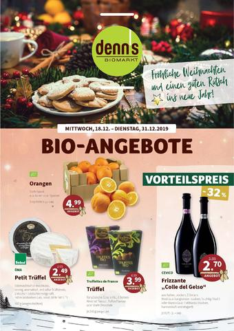denn's Biomarkt Prospekt (bis einschl. 31-12)