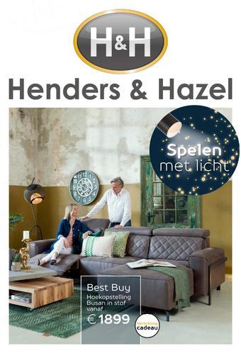 Henders & Hazel reclame folder (geldig t/m 31-12)